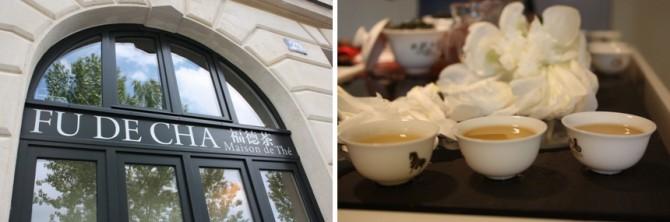 Fu De Cha. Maison de té en París