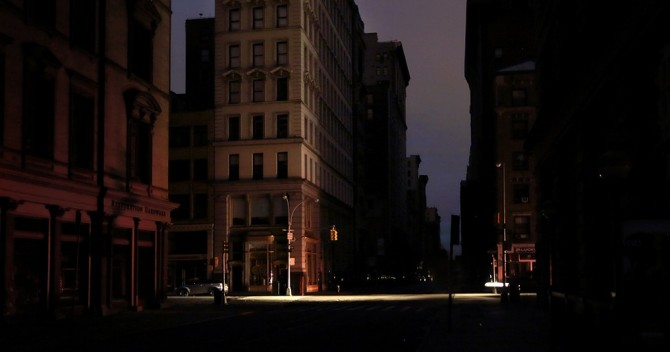 Nueva York a oscuras