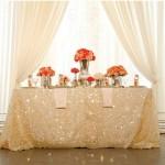 Las lentejuelas, reinas de la mesa