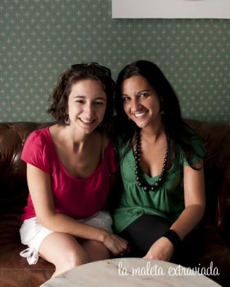 Ángela (la maleta extraviad) y Claudia (Coffe&brunch bcn)
