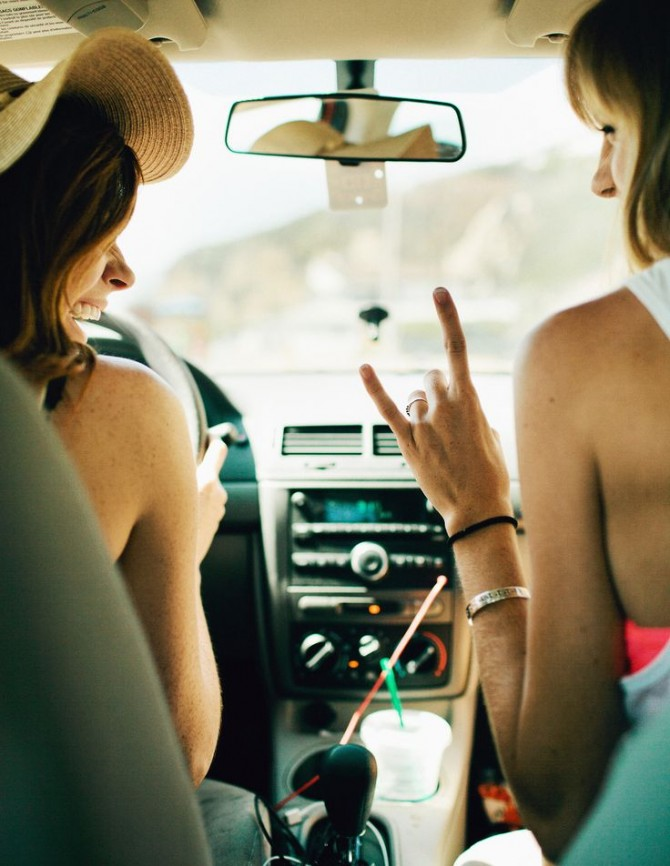 Music Bag: Summer girls in the car!