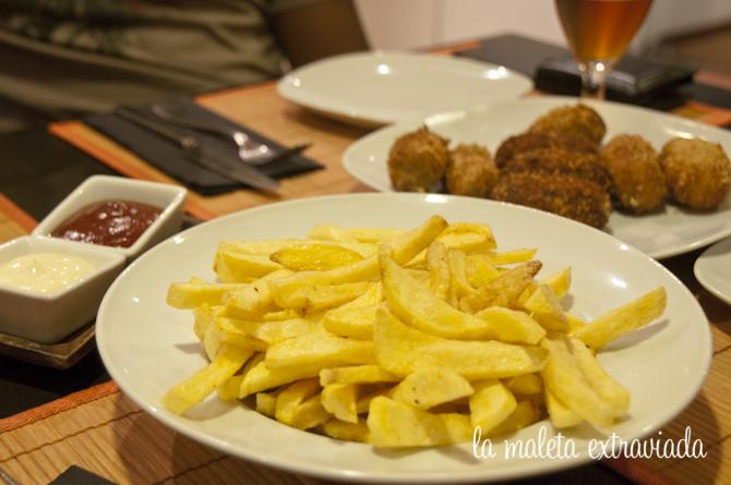 Patatas fritas, las favoritas del cocinero