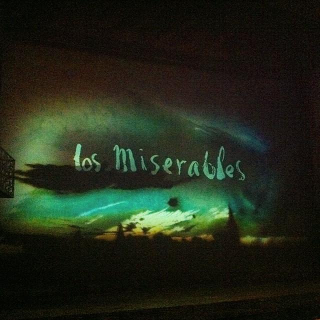 Da igual cuantas veces lo veas, es imposible no emocionare con el musical de #losmiserables. Increíble!!! #pilares2014