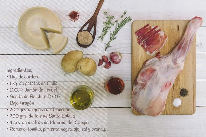 Ingredientes de Milhojas del Pilar