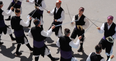 Fiestas de Tauste Dance de Tauste Baile de espadas