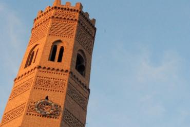 Fiestas de Tauste Torre Mudejar