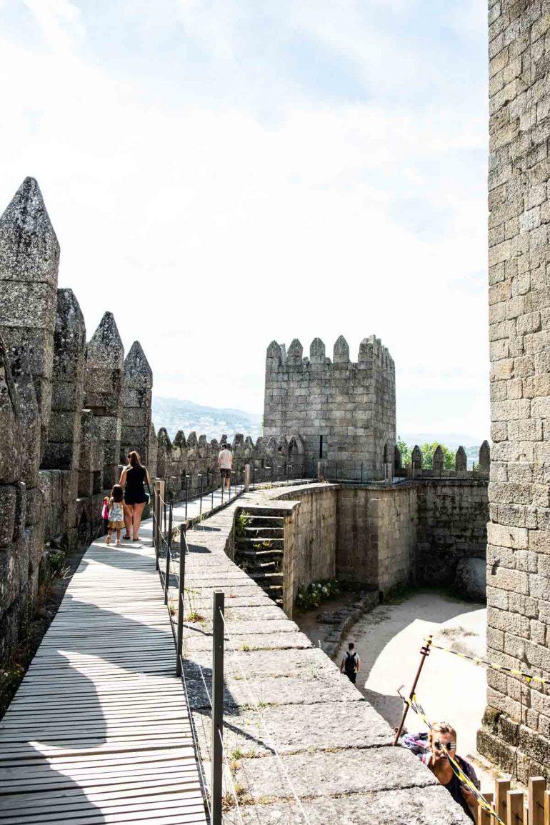 Castillo de Guimaraes Portugal