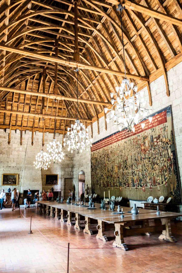 Gran Sala de los Banquetes del Palacio de los Duques de Guimaraes