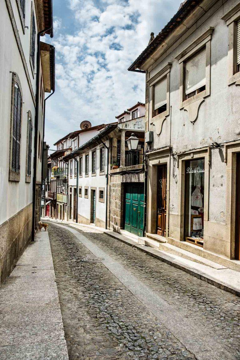 Rua Santa Maria de Guimaraes Portugal