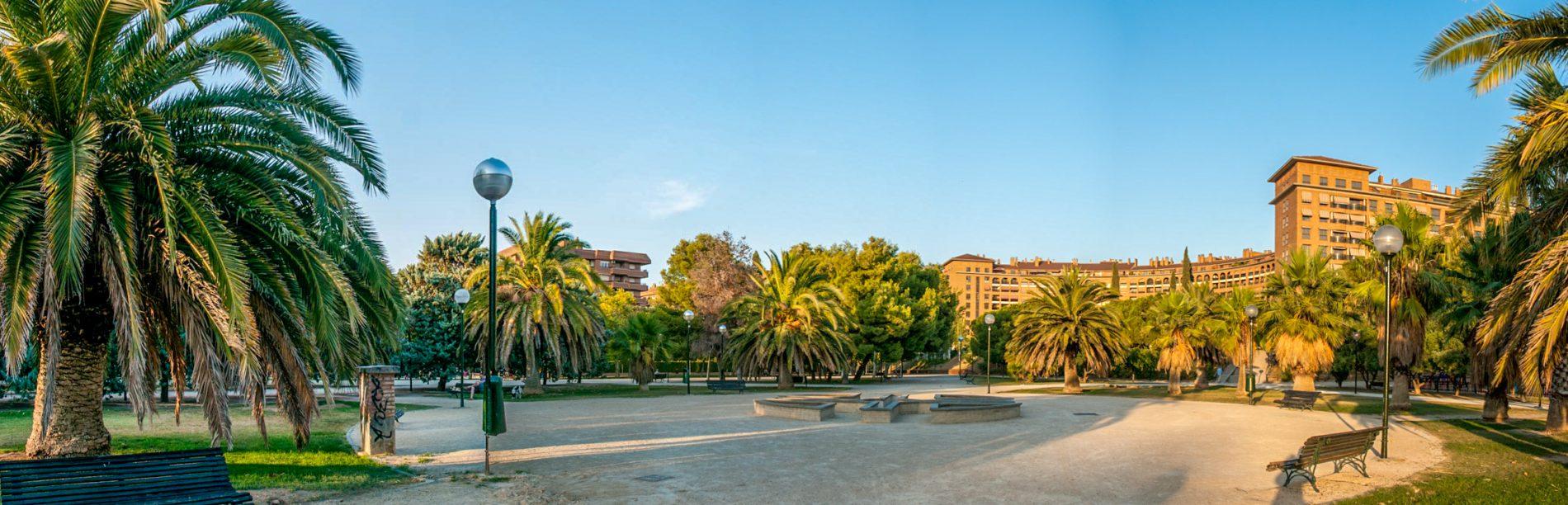 Parque de la Aljaferia