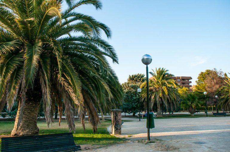 Parque de la Aljaferia de Zaragoza
