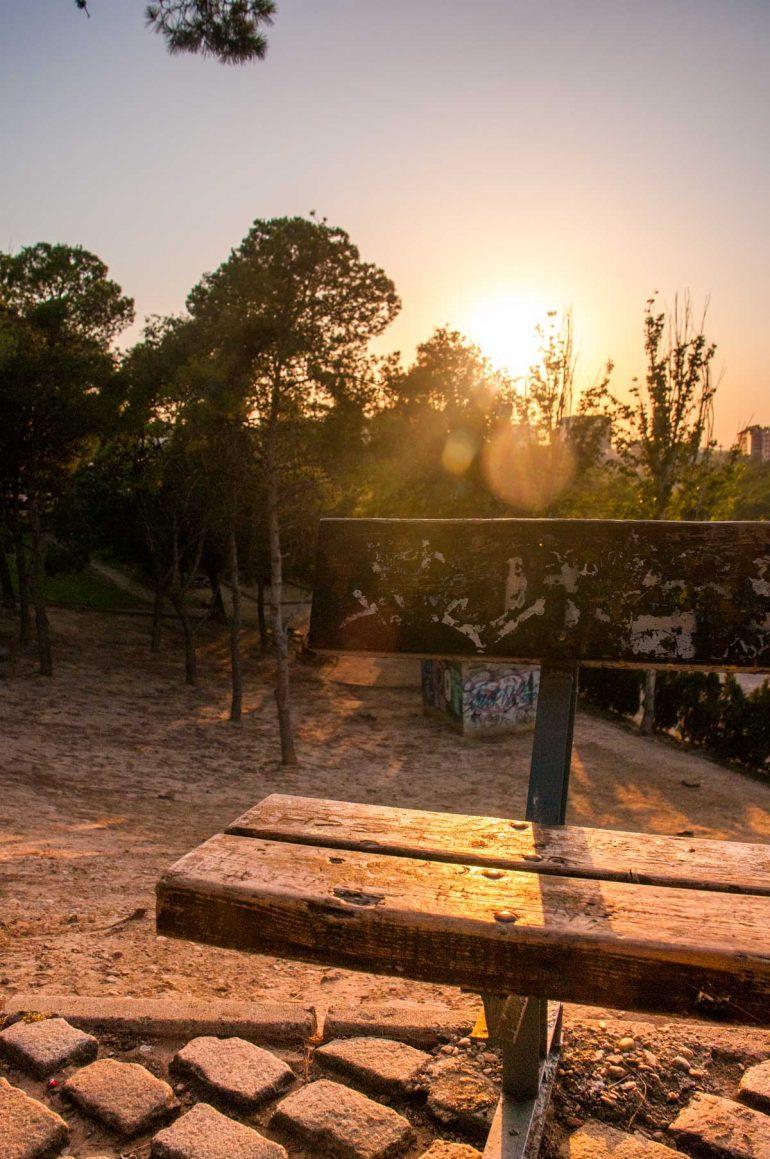 Parque de la ajaferia de ZAragoza