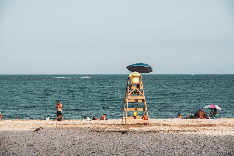 Vigilante de la playa de Altea
