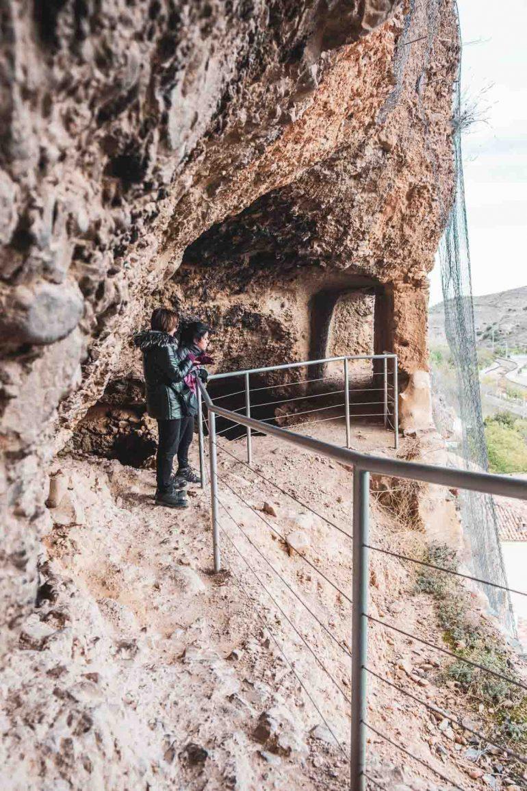 Mirador de la Cueva de Caco en Los Fayos del Moncayo