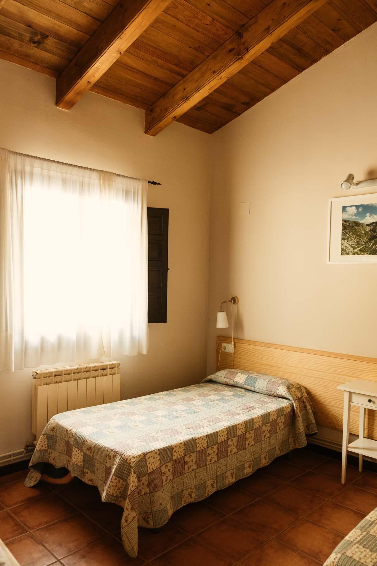 Habitación doble cpm camas separadas